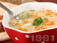 Лесна и икономична зеленчукова супа